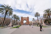 スペイン バルセロナ凱旋門