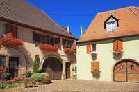 フランス アルザス地方 ワイン街道沿いの村ウェスタルタン
