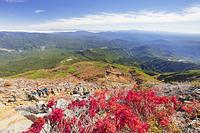長野県 御嶽山の九合目より木曽山脈