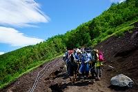 山梨県 富士登山 五合目