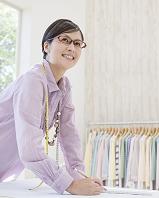 デザイナーの日本人女性