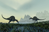 CG スピノサウルス
