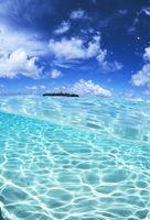 東マレーシア リゾートの海