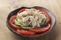 鶏肉ササミのサラダ