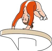 体操競技 跳馬