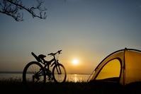 キャンプツーリング マウンテンバイク