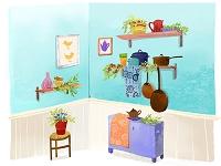 キッチン小物とインテリア