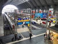 ドイツ フランクフルト中央駅
