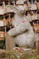 京都府  大豊神社 狛ネズミ