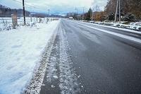 北海道 道と雪
