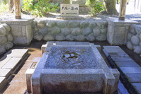 岐阜県 大垣市 八幡神社 大垣の湧水