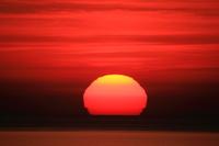 山形県 太陽(日本海)