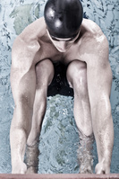 男子競泳 背泳ぎ