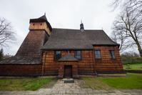 ポーランド マウォポルスカ南部の木造聖堂群