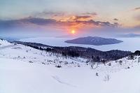 北海道 美幌峠の日の出 美幌町