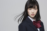日本人の女子高校生