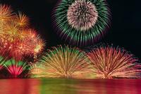 福井県 夏の三国花火大会