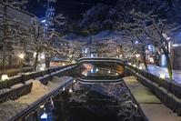 兵庫県 豊岡市 城崎温泉夜景