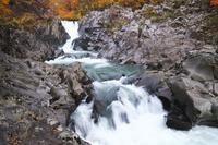 秋田県 法体の滝の秋