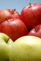3種類のリンゴ(ジョナゴールド・サンフジ・王林)