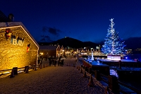 北海道 函館市 金森倉庫とクリスマスファンタジー