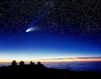 ヘール・ボップ彗星 マウナケア天文台