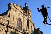 フランス ブルターニュ地方 レンヌ サン・ソヴール教会と装飾...