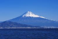 静岡県 駿河湾と富士山