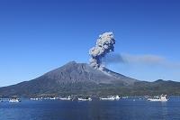 鹿児島県 桜島噴煙