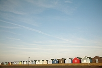 イギリス サウスウォルド 海の家