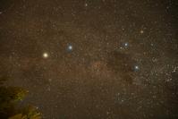ニュージーランド 南十字星とケンタウルス座α星・β星