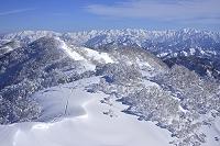 新潟県 五頭山 雪景色