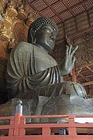 奈良県 東大寺の大仏殿の大仏