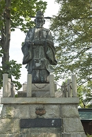 滋賀県 長浜城 豊臣秀吉公像