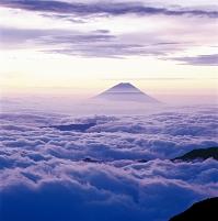 山梨県  富士山 山梨 南アルプス北岳から