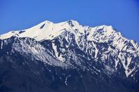 北アルプス連山 爺ヶ岳