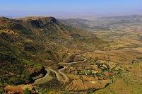 エチオピア ラリベラ 段々畑
