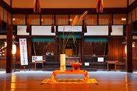 京都府 仲秋の名月の下鴨神社の河合社