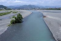 静岡県 安倍川 下流