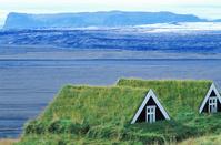 アイスランド 伝統的な農家の家