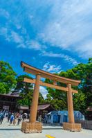 東京都 明治神宮 第三鳥居 御社殿の入口
