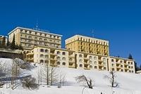スイス クルムホテル サンモリッツ
