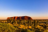 オーストラリア 朝のエアーズロック