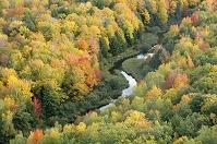 アメリカ合衆国 早秋のリトル・カープ川