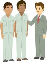 多国籍の従業員と社長