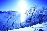北海道 サンピラー摩周湖とダイヤモンドダスト