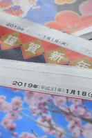 平成最後の正月元旦の新聞