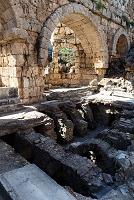 トルコ エーゲ海地方 ペルゲ遺跡 共同浴場(床暖房システム)