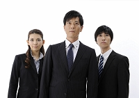 のビジネスチーム