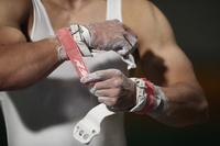 男子体操選手 準備